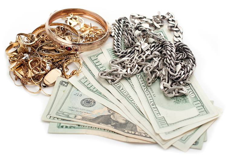 cash for gold jewelry at California Gold Buyers